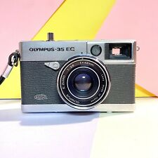 Olympus-35 EC 35mm Rangefinder Camera  42mm f2.8 lens Clean. Film Tested! Lomo!