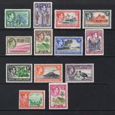 Solomon Islands 1939-51 Complete KGVI Set - OG MNH & MH - SC# 67-79