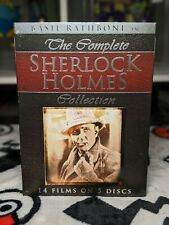 The Complete Sherlock Holmes Collection (DVD, 2010, 5-Disc Set) - BASIL RATHBONE