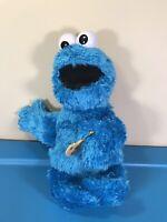 """""""Feed Me"""" Cookie Monster Talking Vibrating 14"""" Sesame Street Plush Hasbro E1961"""