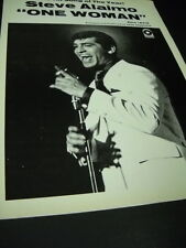 STEVE ALAIMO Hit Song Of The Year ONE WOMAN 1969 PROMO POSTER AD mint condition