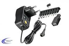 Universal Steckernetzteil stabilisiert AC/DC 1000 mA 3 - 12 V - Reiseadapter