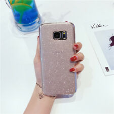 Luxury Bling Glitter Soft TPU Case Cover For Samsung Galaxy S6/7 Edge S8 J7/5 S9
