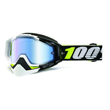 ACCESSORI OCCHIALI GOGGLE SPORT BIKE 100% RACECRAFT SNOW EMRATA YELLOW