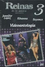 Reinas De La Musica  Vol.3 Jennifer Lopez,Rihanna, Beyonce, DVD