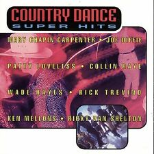 Country Dance Super Hits [Sony #2] by Various Artists (CD, May-1995, Sony)