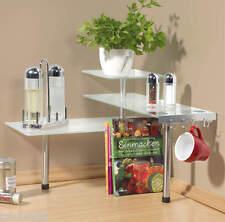 Westfalia Küchen Eck - Regal Glas