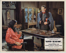 RASPUTIN THE MAD MONK photo CHRISTOPHER LEE/FRANCIS MATTHEWS orig color still
