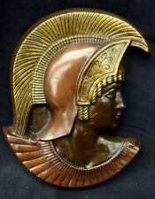 SPARTAN TROJAN HEAD MASK WALL PLAQUE ROMAN GREEK 18038