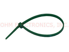 "Lot of 500 PCS 20-08405C 8/"" Green 40#lb Cable Zip Ties"