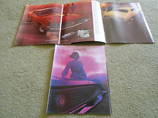 1970 FORD TORINO, BROUGHAM COBRA GT FAIRLANE ORIGINAL 22 p. BROCHURE, 70 CATALOG