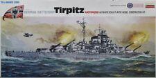 Lindberg 1:268 1:350 German Battleship Tirpitz Motorized Plastic Kit #764MU