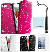 Leather Bling Glitter Case Cover For Apple iPod Touch 7th 6th 5th Generation