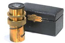 Rare Antique Brass Microscope Accessory - Wright's Eikonometer