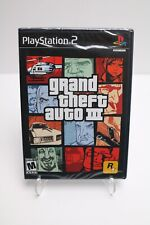 Grand Theft Auto 3 PlayStation2 (Ps2) - Brand New & Sealed