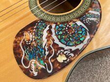 More details for 1x acoustic guitar deluxe 2mm scratchplate pickguard teardrop dragon custom