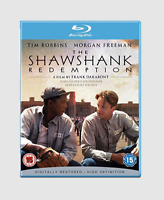 The Shawshank Redemption Blu-ray [Region Free] Morgan Freeman Drama Movie - NEW