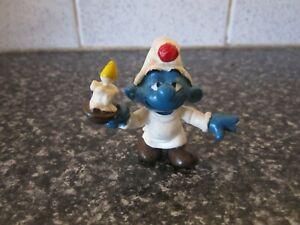 Smurfs Candle Smurf Rare (e)