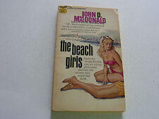 BEACH GIRLS  1959  JOHN D MACDONALD  BEAUTIFUL SEXY COVER ART    VERY FINE-