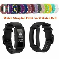 TPE Watch Band Wrist Strap Bracelet Replace for Fitbit Ace2 /Inspire /Inspire HR