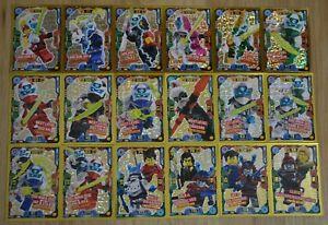 Lego® Ninjago Serie 5 Next Level alle 18 limitierte Auflagen LE Karten komplett