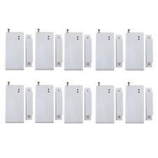 10 x 433Mhz Wireless Door/Window Sensor Detector Magnetic Contact Security Alarm