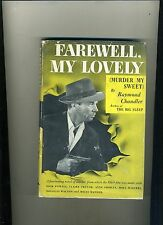 VINTAGE PHOTOPLAY-DJ-FAREWELL MY LOVELY-CHANDLER 1946-WORLD-(DICK POWELL)-HI GRD