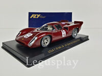 Slot SCX Scalextric Fly S31 Lola T70 MK 3B UK Special Edition Red