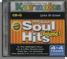Karaoke CD+G - All Time Soul Hits, Vol 1 - New 4 Song CD! In the Midnight Hour!