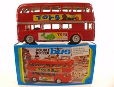 Jouet en töle et friction double decker bus MF 844 made in China 20 cm mint