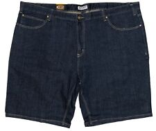 Mens Chisel Jeans Big Men's Dark Blue Stretch Denim Shorts CJ-2705BS-S