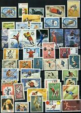 Sports, Olympics Thematics Page Full Of Stamps #W1042