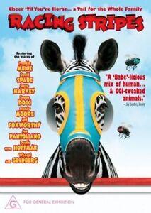 Racing Stripes DVD FAMILY Movie ZEBRA RACE HORSE RACING BRAND NEW R4