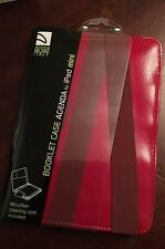 TUCANO DESIGN MILANO ITALY IPAD MINI CASE RED BRAND NEW