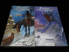 Alexandre Malagoli Cycle La pierre de Tu-Hadj 1 & 2 (complet) Editions GF Mnemos