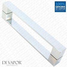 Di Vapor (R) 160mm Solid Stainless Steel Shower Door Handle | 16cm Hole to Hole