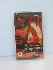 Metal Gear Solid Portable Ops Sony PSP Brand New & Sealed