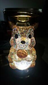 New Bath & Body Works Fall 2021 Squirrel Water Globe Pedestal Candle Holder