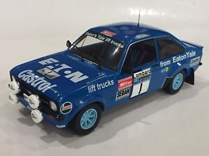 1/18 FORD ESCORT RS1800 MK2 EATON YALE 1979 LOMBARD RAC RALLY HANNU MIKKOLA