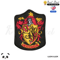 Harry Potter Gryffindor Embroidered Iron On Sew On Patch Badge For Shirt Clothes