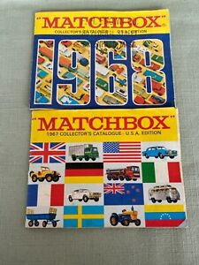 Vintage Matchbox Collector's Guide Catalogues -  1967, 1968