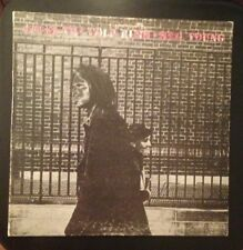 NEIL YOUNG ~ AFTER THE GOLD RUSH Red Pink Lettering ALTERNATE MIX LP