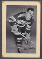 1934-44 Beehive Group I Chicago Blackhawks Hockey Photos #40 Max Bentley