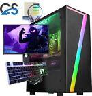 Fast Gaming Pc Computer Bundle Quad Core I7 16gb 1tb Windows 10 Nvidia Gt710 2gb