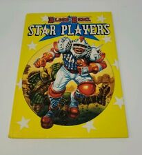 Vintage 1989  Games workshop UK Blood Bowl Star Players Book Handbook Expansion
