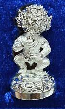 Magic 4 Ears 5 Eyes Statue Amulet Thai Talisman Money Fortune Kruba Kham Fan