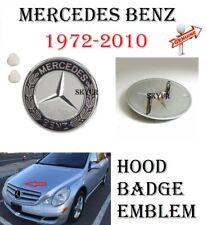 Genuine Hood Badge Emblem With Grommets For Mercedes SL,SEC,C,CL,CLK,CLS,E,G,S,R