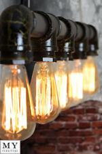 Vintage/Retro Iron Pendant 4-6 Ceiling Lights & Chandeliers