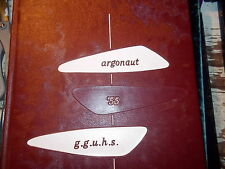 Yearbook 1955 Garden Grove Union High School California Argonaut