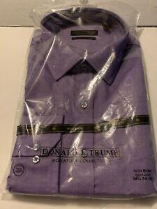 DONALD TRUMP DRESS SHIRT 18 1/2  YOUR CHOICE